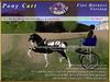 *E* Pony Cart Fine Harness [RH POA Pony] BOXED