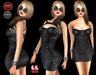 M&M-MAGDA DRESS BLACK