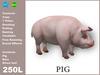 [TomatoPark] Pig Mesh ( roaming, animate, feedable, copy)