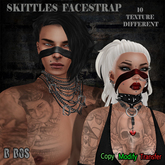 B BOS -Skittles FaceStrap-FATPACK