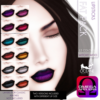 Oceane - Witchy Woo Lipsticks Fat Pack [Omega]