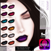 Oceane -Witchy Woo Lipsticks Fat Pack OMEGA