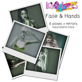 [KoKoLoReS] pose pack - Face & Hands