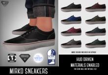 SUMMER SALE - ILLI - [SLink,MeshProject Men,Classic,Aesthetic] Mirko Sneakers (HUD Driven)