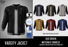 ILLI - [MeshProject,Physique,Classic] Varsity Jacket (HUD Driven) - PROMO