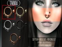 TABOU. Septum+Nose Dot- Rose Gold
