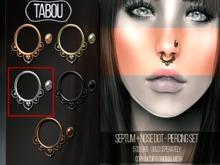 TABOU. Septum+Nose Dot-Silver