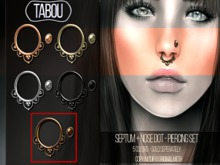 TABOU. Septum+Nose Dot- Copper