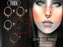 TABOU. Septum+Nose Dot-Black