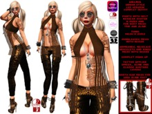 **HELBIA LEO VERSION URBAN STYLE COMPLET OUTFIT **