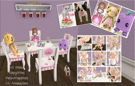 {ACD} Pretty Princess Activity Set Children