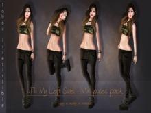 TABOU. My left side mini Pose set