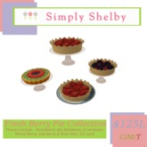 Simply Shelby Fresh Berry Pie Collection