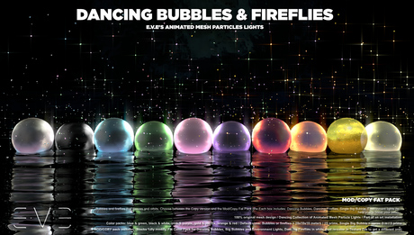 Dancing Bubbles & Fireflies {M/C Fat Pack}