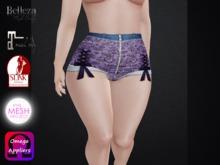 .::.What2Wear.::. Short Renda Purple Lace