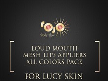 *** rojo *** Lucy Loud Mouth Appliers FATPACK