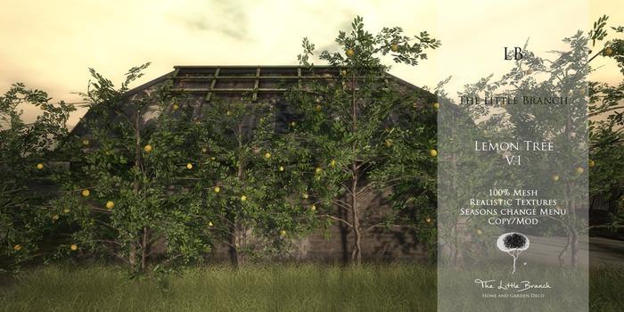 LB Lemon Tree V1 Animated Mesh