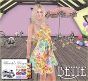 ~*~Shar's Dresses~*~Bette summer dress with hud