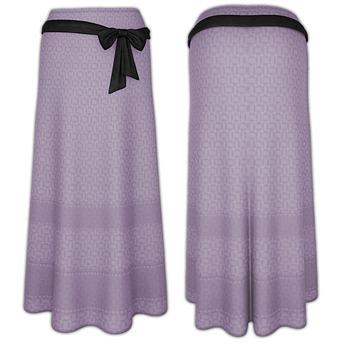 Ducknipple - Long Skirt v1 Lila