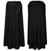 Long skirt v1 black slx