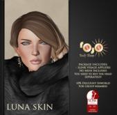 *** rojo *** Luna - Slink Visage Head Appliers Golden