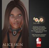*** rojo *** Alice - Slink Visage Head Appliers Cocoa