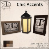 [DDD] Chic Accents
