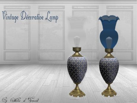 *CdT* Vintage decorative lamp mosaic