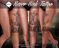 .Things.- Never Sink Tattoo