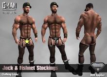 GMan PA - Jock & Fishnet Stockings for Aesthetic