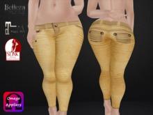 .::.What2Wear.::.  Pants  Yellow
