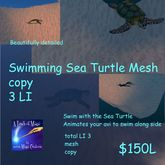 Swim with the Sea Turtle (crate)