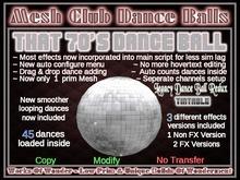 That 70's Dance Ball -Mesh-