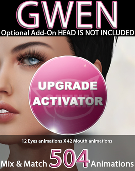 CATWA HEAD Gwen Upgrade ACTIVATOR ADD-ON