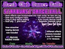 Starburst Dance Ball -Mesh-