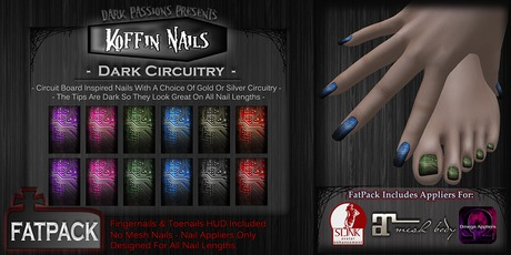DP - Koffin Nails - FatPack - Dark Circuitry (Boxed)