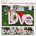 "ROSENGARTEN ""LOVE"" MESH Prop single poses"