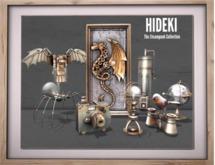 HIDEKI - Steampunk Camera Replica
