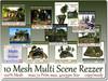 10 Mesh Multi Scene Rezzer max.72 Prim max. 40x35m Size copy-mo