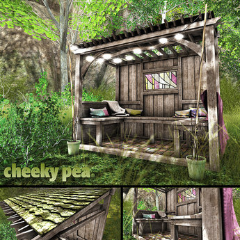 Second Life Marketplace Cp Spring Shaded Garden Snug Pg