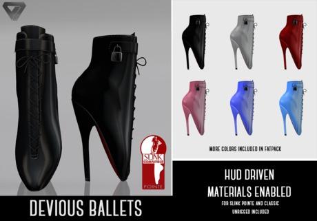 ILLI - [SLink Pointe,Classic] Devious Ballets (HUD Driven)