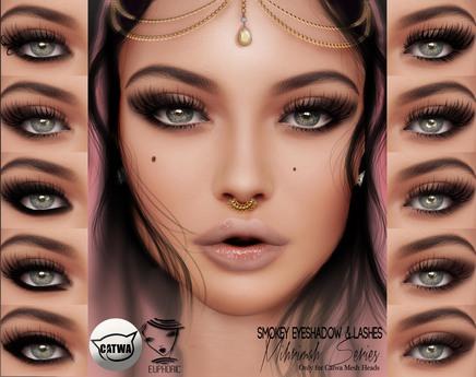 .euphoric ~Smokey Eyeshadow&Lashes Mihrimah Series ~[Catwa]