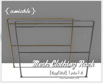 {amiable}Mesh Clothing Rack02