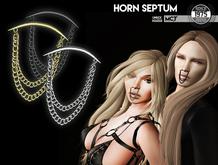 [Since1975] - Horn Septum (Black)