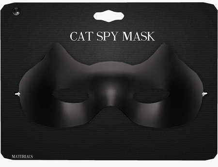 Amala - Cat Spy Mask - Black