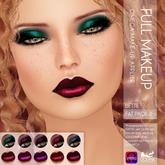 Oceane - Bette Lipsticks and Eyeshadows Omega - Fat Pack 2