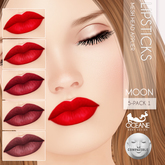 Oceane - Moon Lipstick Applier 5-pack 1 [Lelutka]