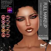Oceane - Boho Thai Lips & Eyeshadows Fat Pack 1 - OMEGA