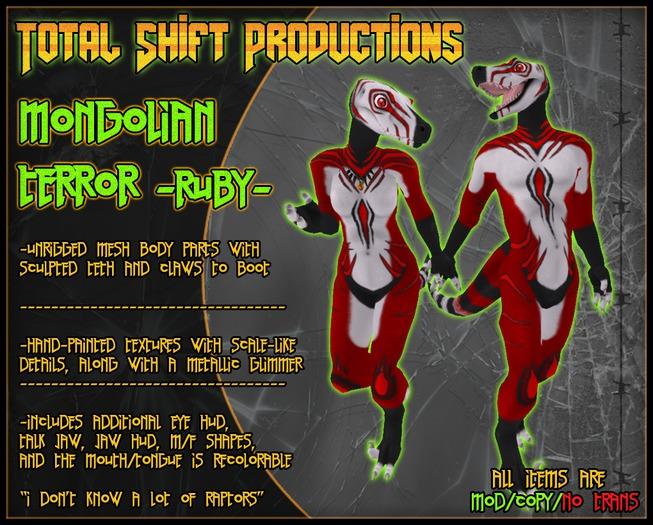 :Total Shift Productions: Mongolian Terror - RUBY