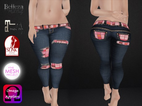 .::.What2Wear.::. Jeans-Pink